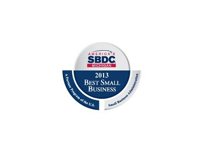 Michigan Small Business Development Center Award 2013